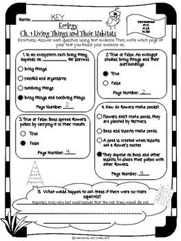 CKLA Grade 3 Unit 11 Ch. 1 Ecology Reading Quiz
