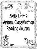 CKLA Grade 3 Unit 2 Animal Classification Reading Journal