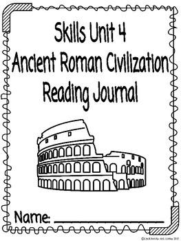 CKLA Grade 3 Unit 4 Ancient Roman Civilization Reading Journal