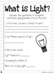 CKLA Grade 3 Unit 5 Light and Sound Reading Journal