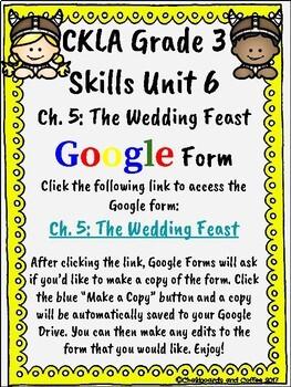 CKLA Grade 3 Unit 6: Vikings Ch. 5 Google Form