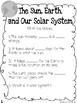CKLA Grade 3 Unit 7 Astronomy Reading Journal