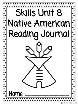 CKLA Grade 3 Unit 8 Native American Reading Journal