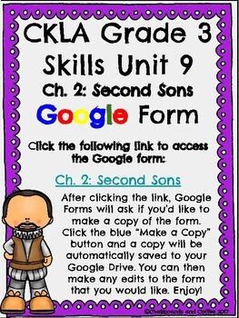 CKLA Grade 3 Unit 9: European Explorers Ch. 2 Google Form