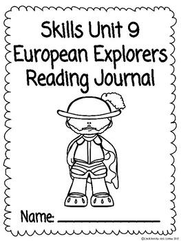 CKLA Grade 3 Unit 9 European Explorers Reading Journal