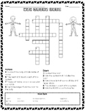 CKLA Human Body Crossword Puzzle
