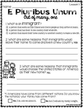 CKLA Immigration Sampler