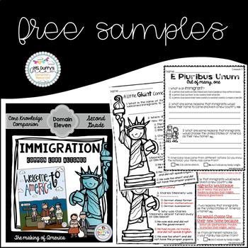 Immigration Sampler