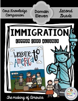 CKLA Immigration  ~Second Grade (Engage NY/Core Knowledge