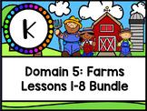 CKLA Kinder Domain 5 (Farms) Flipchart Set