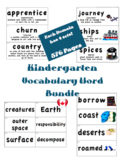 CKLA Kindergarten Listening & Learning Vocabulary Cards BUNDLE