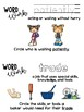 CKLA Kindergarten Colonial Towns and Townspeople Vocabulary Booklet