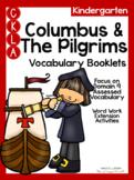 CKLA Kindergarten Columbus and the Pilgrims Vocabulary Booklet