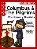 CKLA Kindergarten Columbus and the Pilgrims Vocabulary Booklet