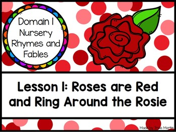 CKLA Kinder D1L1: Roses are Red and Ring Around the Rosie Flipchart
