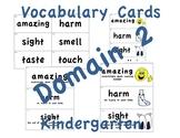 CKLA Kindergarten Domain 2 Vocabulary Cards