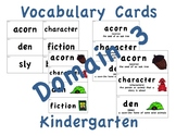CKLA Kindergarten Domain 3 Vocabulary Cards