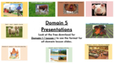 CKLA Kindergarten - Domain 5 - Farms - Presentation Slides