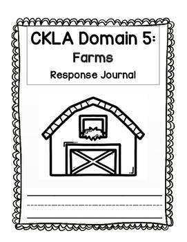 CKLA Kindergarten Domain 5 Journal