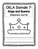 CKLA Kindergarten Domain 7 Journal