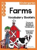 CKLA Kindergarten Farms Vocabulary Booklet