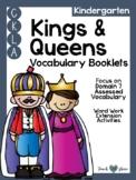 CKLA Kindergarten Kings and Queens Vocabulary Booklet