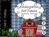 CKLA Kindergarten Knowledge Unit 5 Farms Exit Passes