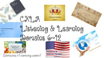 CKLA Kindergarten Listening & Learning Vocab