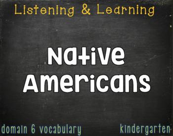 CKLA Kindergarten Listening & Learning Vocabulary (Domains 1-6)