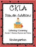 CKLA 1st Edition Kindergarten L&L Domain 1 Nursery Rhymes