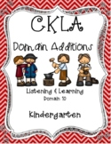 CKLA Kindergarten Listening and Learning Domain 10 Colonial Towns & Townspeople