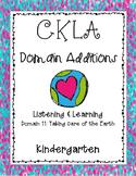 CKLA Kindergarten Listening and Learning Domain 11 Taking