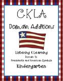 CKLA Kindergarten Listening and Learning Domain 12 Preside