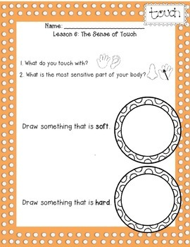 CKLA 1st Edition Kindergarten Listening and Learning Domain 2 The Five Senses