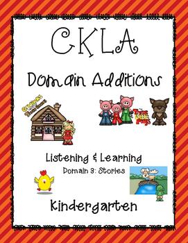 CKLA Kindergarten Listening and Learning Domain 3 Stories