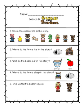 CKLA 1st Edition Kindergarten Listening and Learning Domain 3 Stories