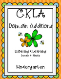CKLA 1st Edition Kindergarten Listening and Learning Domai