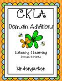 CKLA 1st Edition Kindergarten Listening and Learning Domai