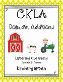 CKLA Kindergarten Listening and Learning Domain 5 Farms