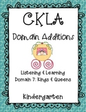 CKLA 1st Edition Kindergarten L&L Domain 7 Additions Kings