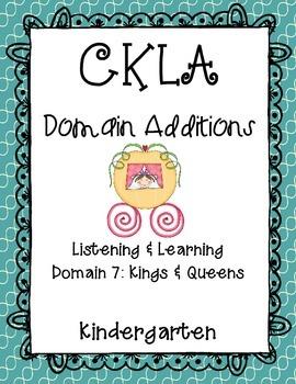 CKLA Kindergarten Listening and Learning Domain 7 Addition