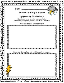 CKLA Kindergarten Listening and Learning Domain 8 Additions Weather