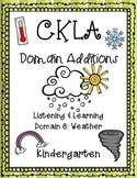 CKLA 1st Edition Kindergarten Listening and Learning Domain 8 Additions Weather