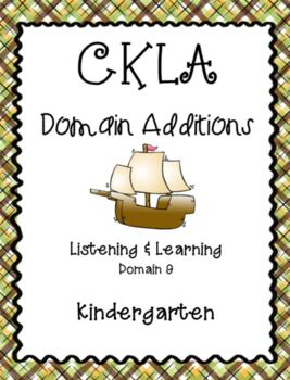 CKLA Kindergarten Listening and Learning Domain 9 Columbus and the Pilgrims