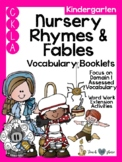CKLA Kindergarten Nursery Rhymes and Fables Vocabulary Booklet