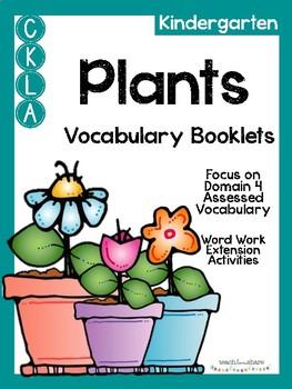 CKLA Kindergarten Plants Vocabulary Booklet