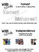 CKLA Kindergarten Presidents and American Symbols Vocabulary Booklet