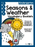 CKLA Kindergarten Seasons and Weather Vocabulary Booklet