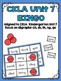 CKLA Kindergarten Skills Unit 7 BINGO