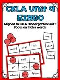 CKLA Kindergarten Skills Unit 9 BINGO